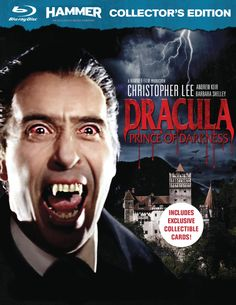 Christopher Lee as Dracula: Prince of Darkness 1966