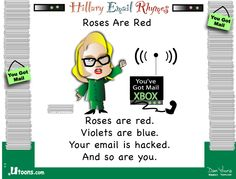 Roses are red . . .