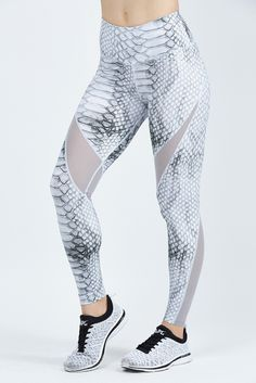 adb67c08d003c Windsor Tight-slate Croc-xs Seamless Leggings, Bandy, Yoga Pants, Athleisure