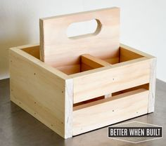 DIY Frappuccino Bottle Crate …