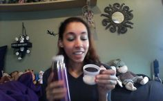 Amazon review Stainless purple Coffee thermos at amazon.com