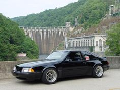 Mustang Foxbody Hatchback I got passed by one of these today..and my itch to build one came back