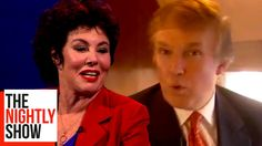 Donald Trump Said Some Very Crude Things to Ruby Wax & Kicked Her Off a ...