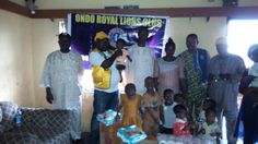 Ondo Royal #LionsClub (Nigeria) donated supplies to an orphanage