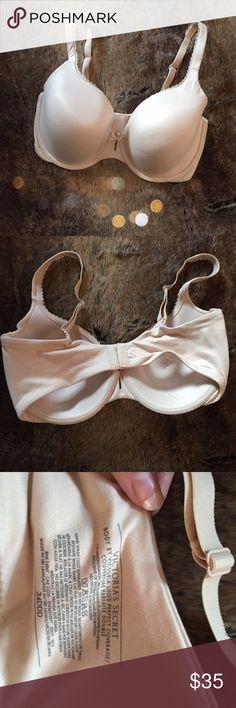 SALE‼️Victoria's Secret Perfect Coverage Bra Gorgeous nude colored Victoria's Secret perfect coverage bra in perfect condition. So cute! No trades. 2.25fcr52 Victoria's Secret Intimates & Sleepwear Bras