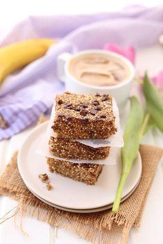 Banana Quinoa Breakfast Bars - The Healthy Maven