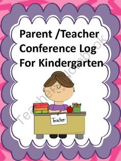 Early Childhood Parent Teacher Conference Form | Parents ...