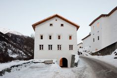 Muzeum Susch, a major new space and home for experimental approaches to contemporary art, opened to the public on 2nd January 2019 in Susch, a remote town on the ancient pilgrim route to Santiago de Compostela in the Engadin valley of the Swiss Alps.
