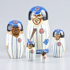 Chicago Cubs Nesting Doll