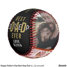Happy Father's Day Best Step Dad  3 Photo Collage Baseball Stepdad Fathers Day Gifts, Happy Fathers Day, Gifts For Dad, Photo Collage Gift, Art Pieces, Dads, Baseball, Fathers, Baseball Promposals