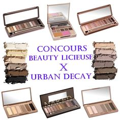 urban decay x beautylicieuse concours fabuleux! Ainsi que sa créatrice