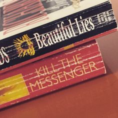 Book spine poetry! Dare you to find some of your own during #nationalpoetrymonth don't forget to tag your library! | #NPM2015 #ConyersRockdaleLibrary www.conyersrockdalelibrary.org