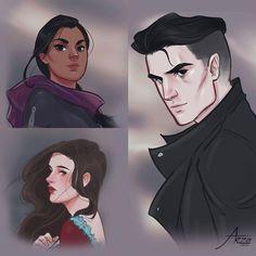 Inej, Nina & Kaz