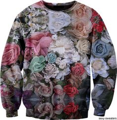 florals done right. like you're wearing a bouqet