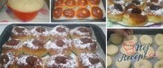 Recept Koblihy s povidly pečené v troubě Slovak Recipes, Advent, French Toast, Breakfast, Food, Morning Coffee, Meals, Yemek, Eten