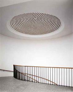 Wallraf-Richartz-Museum, Köln, by Rudolf Schwarz Minimalist Architecture, Art And Architecture, Minimalist Design, Architecture Details, Architecture Interiors, Interior Stairs, Interior And Exterior, Staircase Railings, Staircases