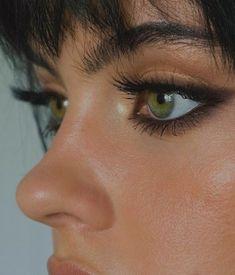Edgy Makeup, Makeup Eye Looks, Eye Makeup Art, Prom Makeup, Cute Makeup, Makeup Goals, Pretty Makeup, Makeup Inspo, Skin Makeup