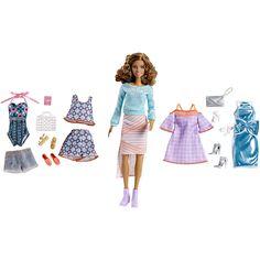 Barbie Pink Passport Teresa Doll Gift Set
