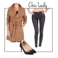 Un manteau, deux styles.