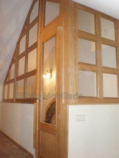 Cerrar la buhardilla con madera de roble cerramiento - Escaleras para buhardilla ...