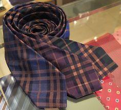abitofcolor: Ties from Khaki's Menswear of Carmel