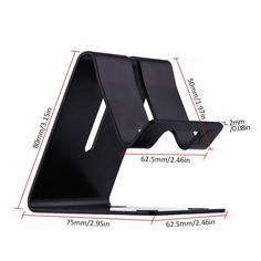 Industrious Universal Portable Aluminum Adjustable Desk Phone Stand Holder For Mobile Phone And Tablet Mobile Phone Holders & Stands Cellphones & Telecommunications