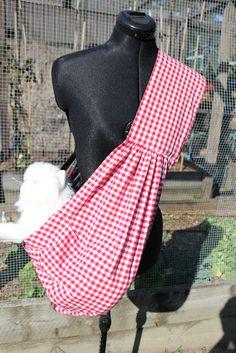 Arnés del animal doméstico reversible. Correa ancha que descansa en su hombro. Esto se hace con tela de algodón. Gracias por mirar y feliz de compras