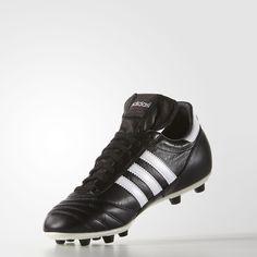 Adidas Originals Copa Mundial Cleats In Black Black Adidas, Adidas Men, Adidas Sneakers, Soccer Boots, Soccer Cleats, Football Gear, Black Boots, Adidas Originals, The Incredibles