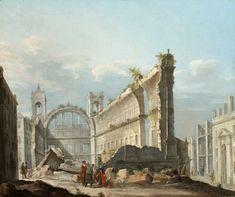 Руины древней цивилизации на картинах и гравюрах 17 века: falyosa