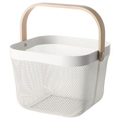 IKEA - RISATORP, Wire basket, This basket makes it easy to access and get an overview of your fruit and vegetables, and has a decorative look.You can easily bring this basket with you for grocery shopping or picking home-grown vegetables in the garden.