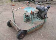 When it comes to making the garden stylish, some seem to have more of a creative touch than others. Yard Tractors, Lawn Mower Tractor, Small Tractors, New Tractor, Landscaping Equipment, Lawn Equipment, Antique Tractors, Vintage Tractors, Walk Behind Tractor