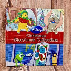 DISNEY CHRISTMAS STORYBOOK BAMBI DUMBO MONSTERS PINOCCHIO 101 DALMATIANS WALL-E Wall E, 101 Dalmatians, School Pictures, Pinocchio, Disney Christmas, Book Title, Pre School, Bambi, Monsters