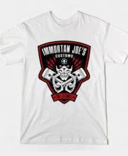 Immortal Joe t shirt Mad Max Fury Road short sleeve tee XL -