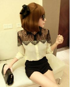 Chique cream shirt at HelloShoppers