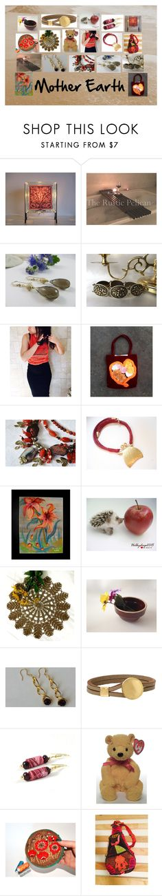 """""""Mother Earth: Handmade & Vintage Gifts for Mom"""" by paulinemcewen ❤ liked on Polyvore featuring rustic and vintage"""