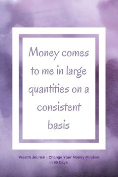 Daily wealth affirmation to help you improve your money mindset so that you can manifest the wealth and abundance that you deserve. Use the affirmation chosen and see what it brings up for you…More Wealth Affirmations, Law Of Attraction Affirmations, Positive Affirmations, Positive Quotes, Aesthetic Header, Wealth Quotes, Abundance Quotes, Manifesting Money, Tips & Tricks