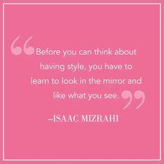 Isaac Mizrahi darlings