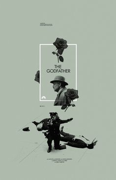 The Godfather - Alternative Movie Posters - Design Adam Juresko Poster Design, Poster Layout, Graphic Design Posters, Graphic Design Typography, Graphic Design Inspiration, Poster Poster, Design Graphique, Art Graphique, Posters Conception Graphique