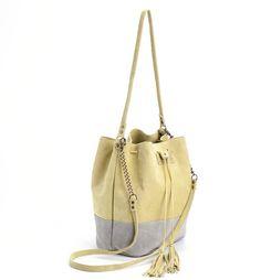 On Sale Bucket bag Drawstring bag Leather Bucket bag por MeitaLev
