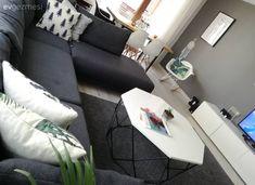Bu Evin Modern Çizgisi Harika Detaylarla Kişiselleşmiş - New Home Decor Decor, Living Room Decor, Tv Unit Decor, Apartment Decor, Living Room, Home, Grey Walls, Modern, Room
