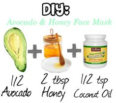 """""""DIY: Avocado and Honey Face Mask!"""" by theworldofbeauty ❤ liked on Polyvore"""