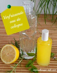 Een verfrissende eau de cologne om zelf te maken met citrus, lavendel en rozemarijn.