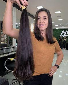 Long Hair Ponytail, Ponytail Hairstyles, Indian Hair Cuts, Long Hair Cuts, Long Hair Styles, Cutting Hair, Long Bob Haircuts, Cut Her Hair, Beautiful Long Hair