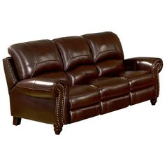 Darby Home Co Kahle Leather Reclining Sofa Reviews Wayfair