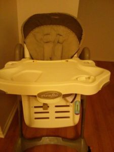 Evenflo majestic high chair
