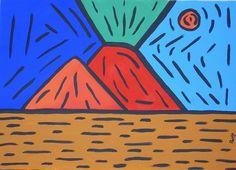 Pop Art Painting - Vesuvius - Omaggio A Warhol by Paolo Santo