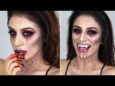 Vampire Halloween Makeup Tutorial 2015 | Makeup By Leyla - YouTube