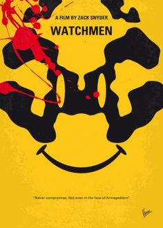 watchmen 1985 superheroes rorschach comedian manhattan nite owl band richard nixon soviet minimal minimalism minimalist movie poster film chungkong design graphic quote inspired