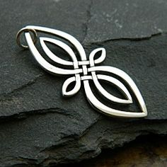 Nina Designs Sterling Silver Celtic Knot Infinity Charm