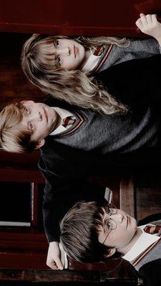 wallpaper - Hermione, Rony e Harry Harry James Potter, Harry Potter Tumblr, Harry Potter Hermione, Arte Do Harry Potter, Harry Potter Icons, Harry Potter Pictures, Harry Potter Characters, Harry Potter Cosplay, Harry Harry